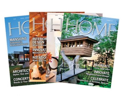 HOME Magazine design/layout – created at Tap Communications