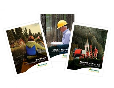 North Central Enterprise Region Opportunities Booklets – created at Tap Communications