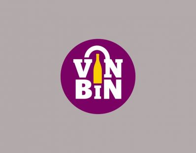 VinBin logo - created at Calgary Co-op